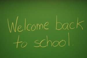 welcome back to school on blackboard