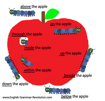 Diagramming Sentence Prepositional Phrases English With